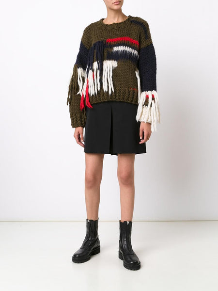 CHRISTOPHER RAEBURN  x The Woolmark Company Hand Knit Sweater - 2