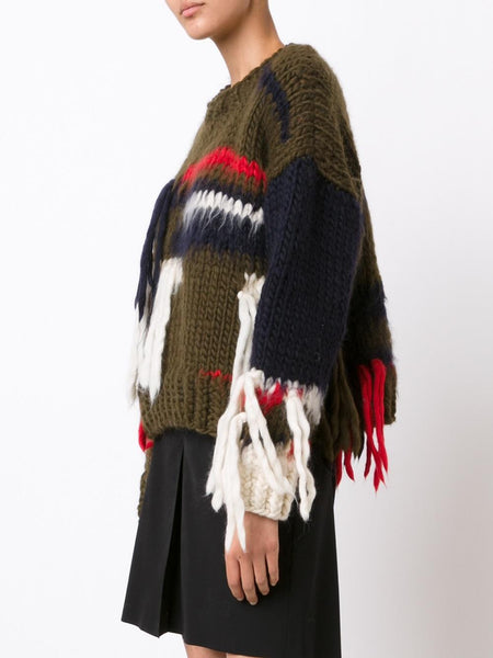 CHRISTOPHER RAEBURN  x The Woolmark Company Hand Knit Sweater - 3