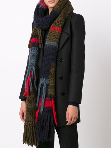 x The Woolmark Company Hand Knit Scarf