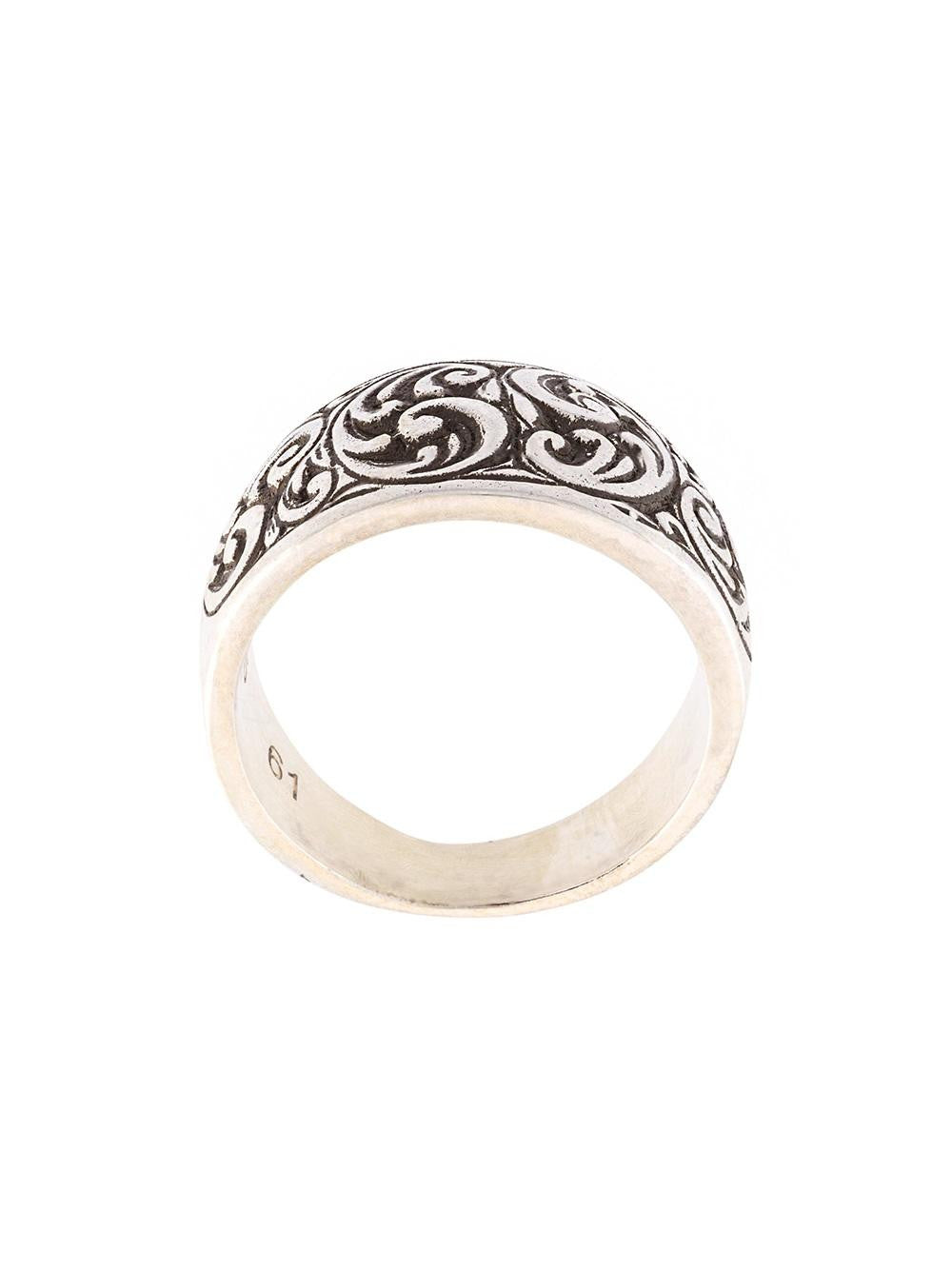 HENSON  Engraved Husk Ring - 1
