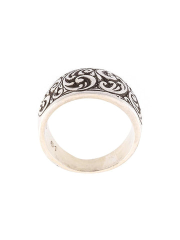 Engraved Husk Ring