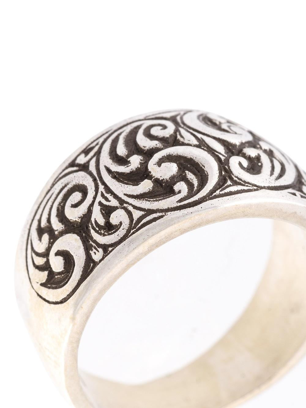 HENSON  Engraved Husk Ring - 3