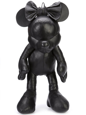 Leather Minnie Mouse Backpack