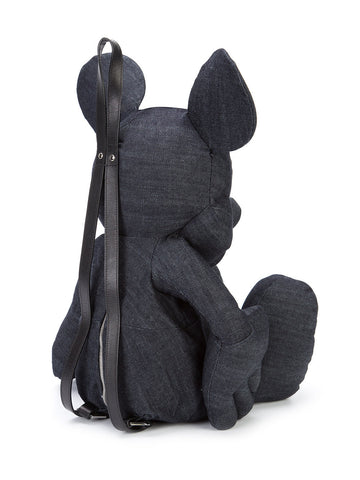 Denim Mickey Mouse Backpack