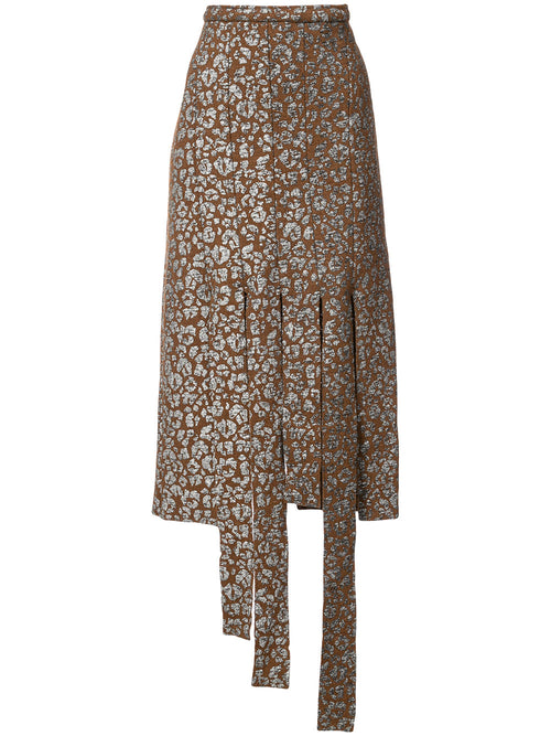 Leopard Cutting Skirt