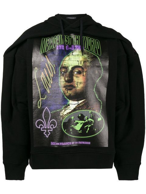 King Louis Hooded Sweatshirt