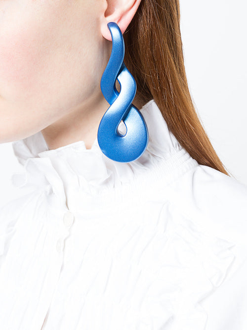 Y/Project SS18 Blue Mercury Earrings - 2
