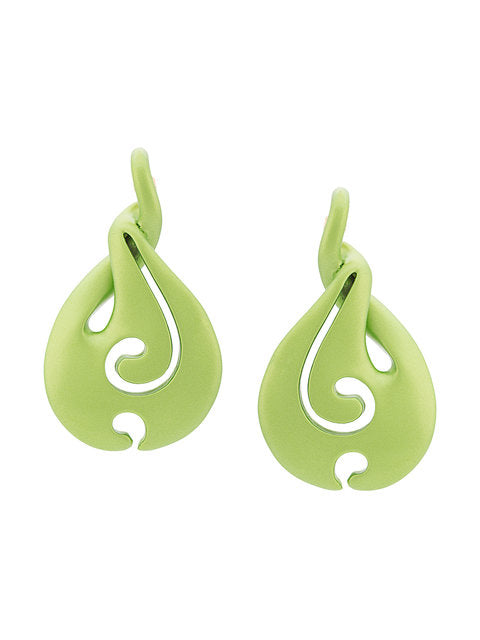 Y/Project Green Waterdrop Earrings - 3