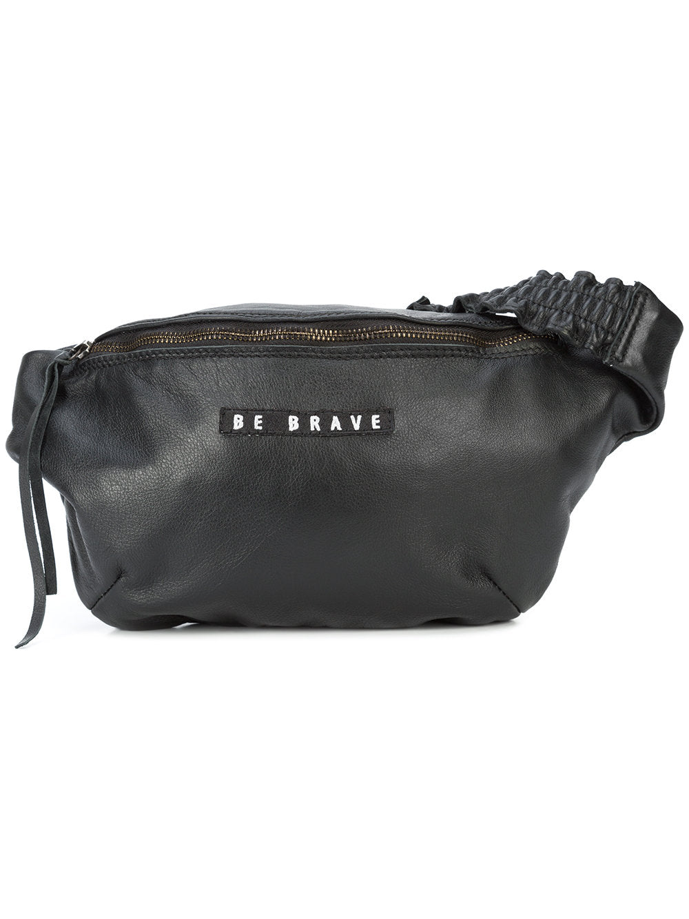 Barbara Bologna Black Leather Marsupio Fanny Pack - 1
