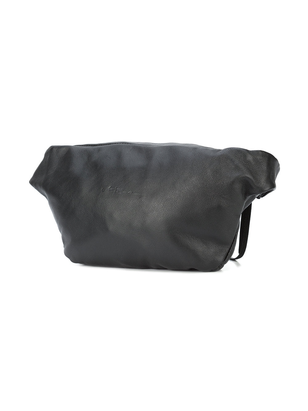 Barbara Bologna Black Leather Marsupio Fanny Pack - 3