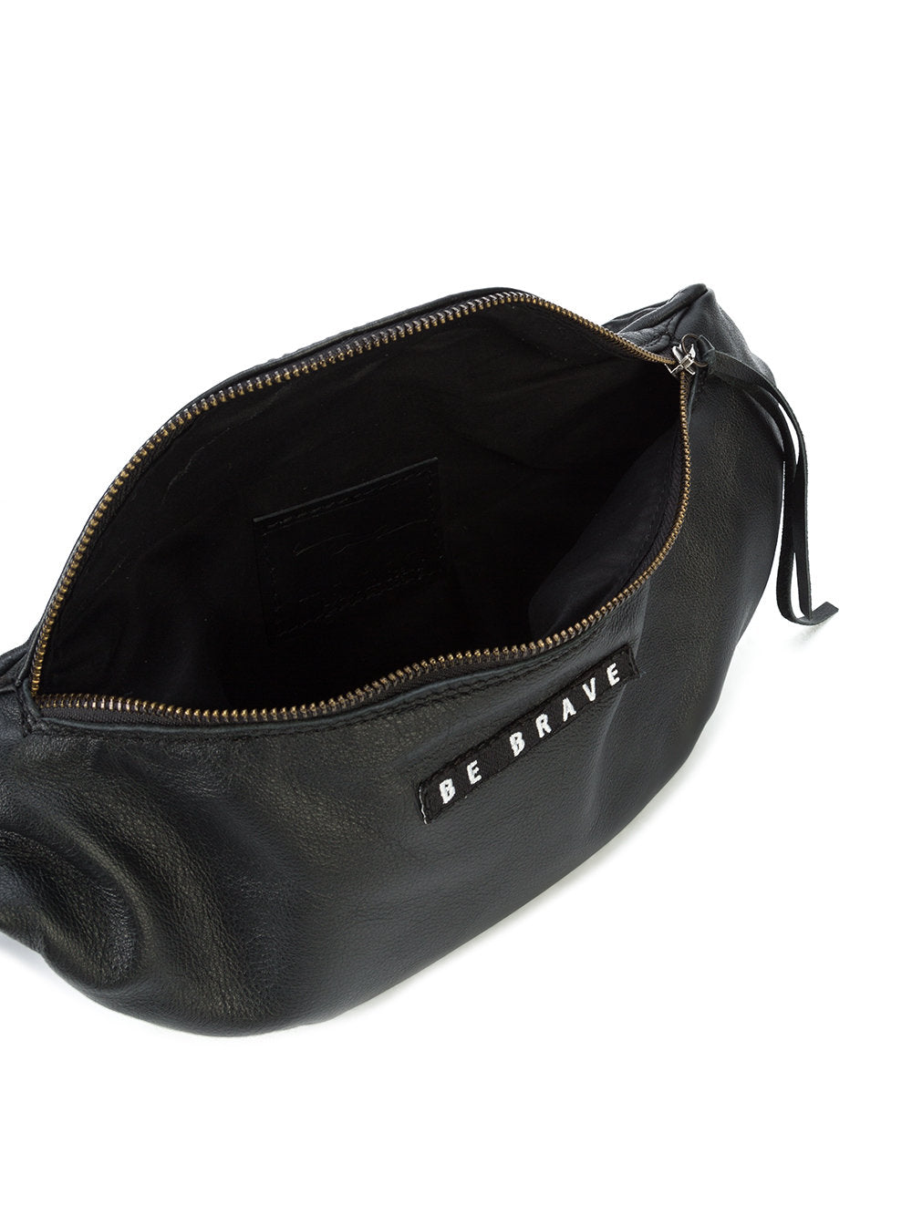 Barbara Bologna Black Leather Marsupio Fanny Pack - 4