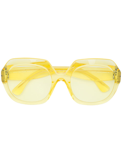 Mykita x Margiela Yellow Frame Glasses - 1