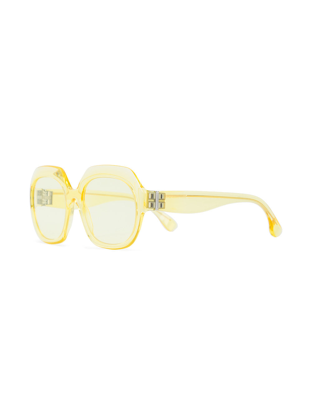 Mykita x Margiela Yellow Frame Glasses - 2