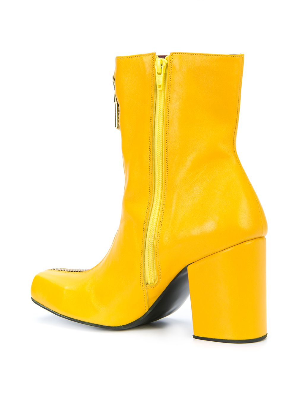 Charles Jeffrey Loverboy x Roker Atelier Yellow Zipped Jasc Boots - 3