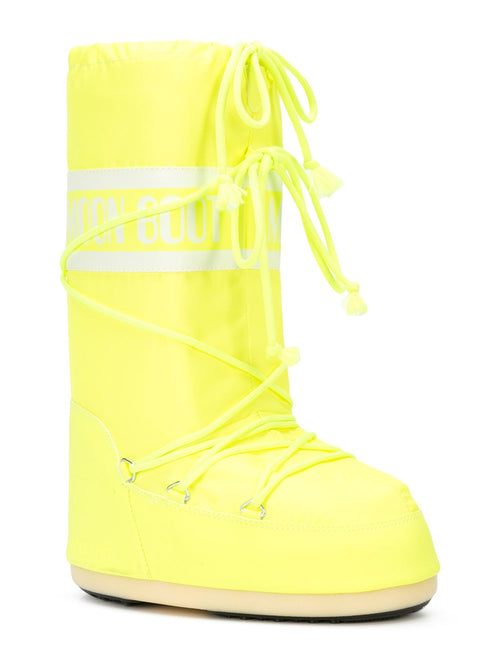 odd92 Jeremy Scott x Moonboot Neon Yellow Short Moonboots - 2