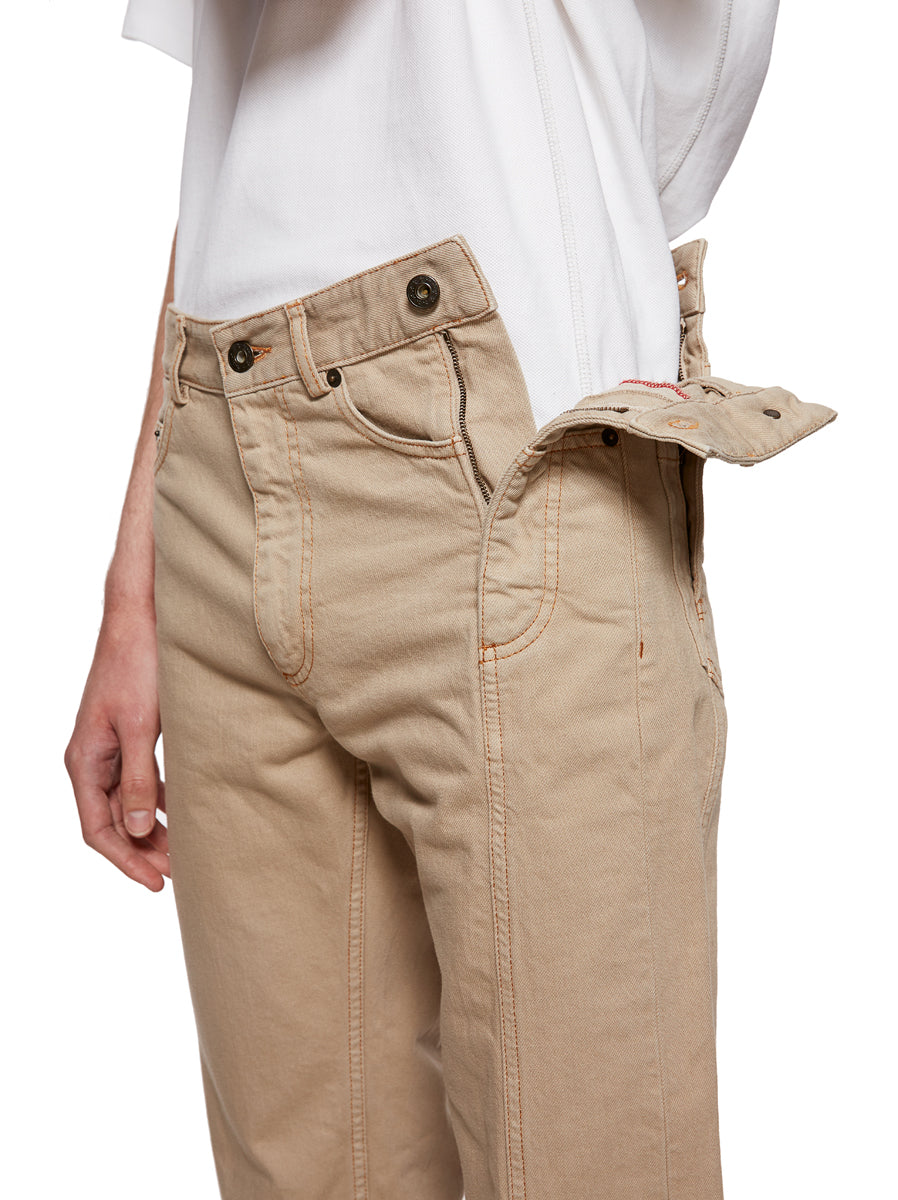 Y/Project Sand Multi Fly Jeans - 2