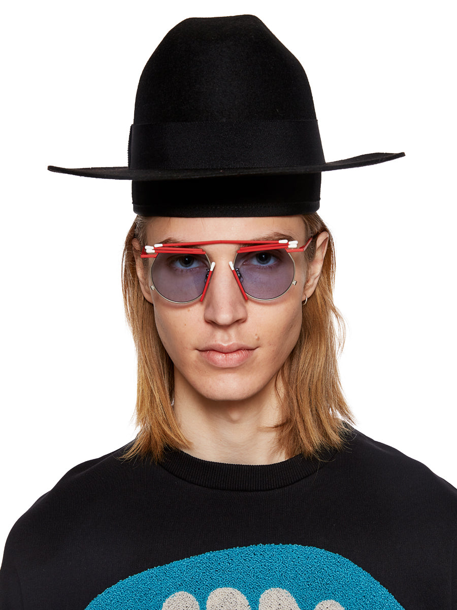Henrik Vibskov x Gentle Monster Red Match Sunglasses - 4