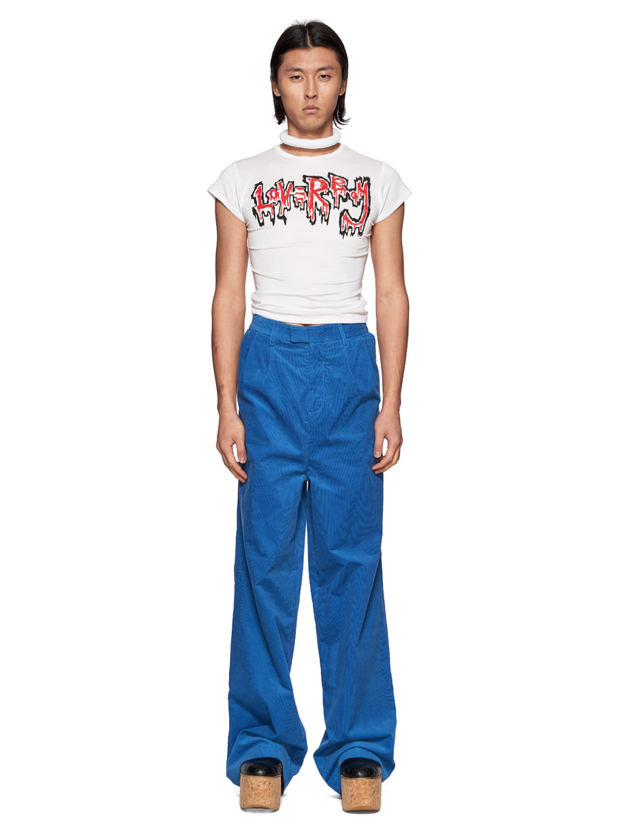 Charles Jeffrey Loverboy White Dribble Logo T-Shirt - 6