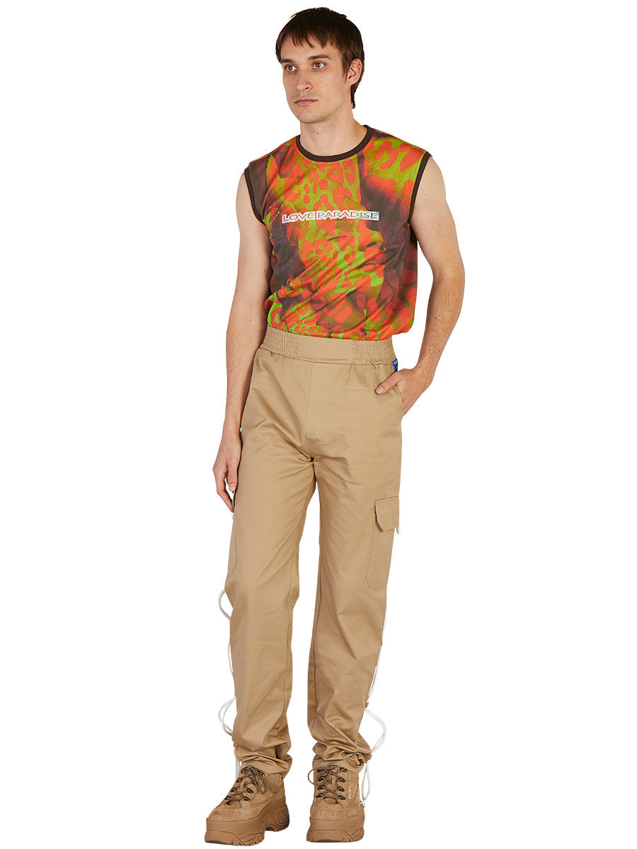 odd92 Anton Belinskiy Spring/Summer 2019 Photo Print Sleeveless Tee - 5