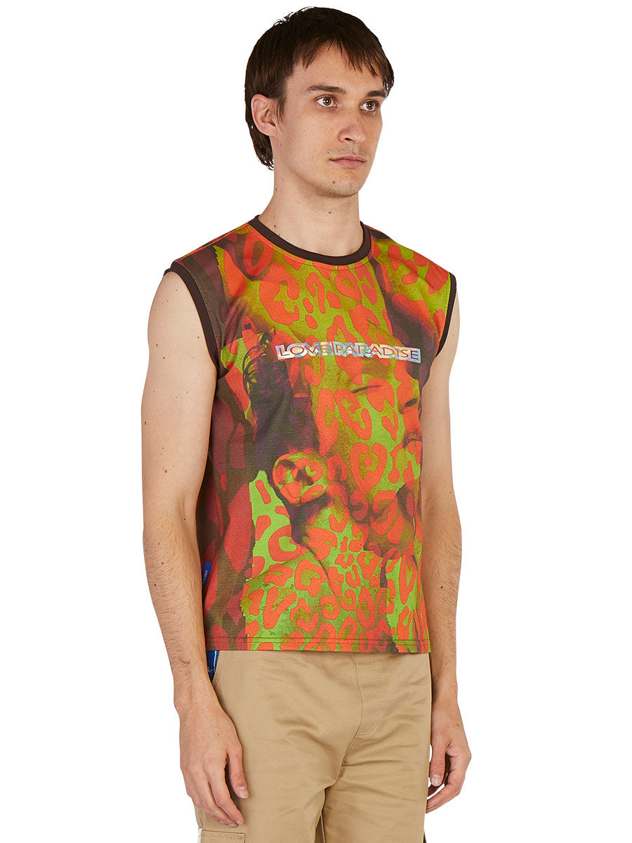 odd92 Anton Belinskiy Spring/Summer 2019 Photo Print Sleeveless Tee - 3
