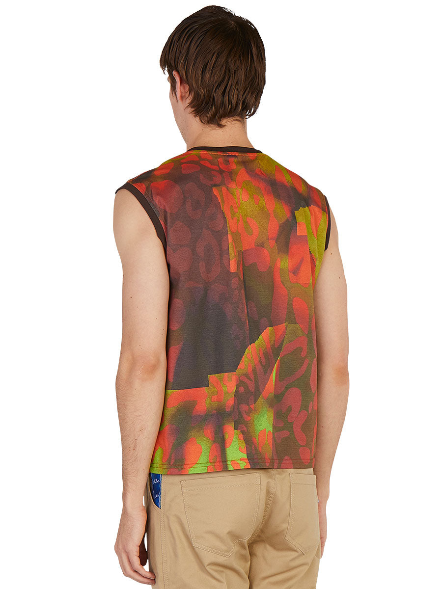 odd92 Anton Belinskiy Spring/Summer 2019 Photo Print Sleeveless Tee - 4