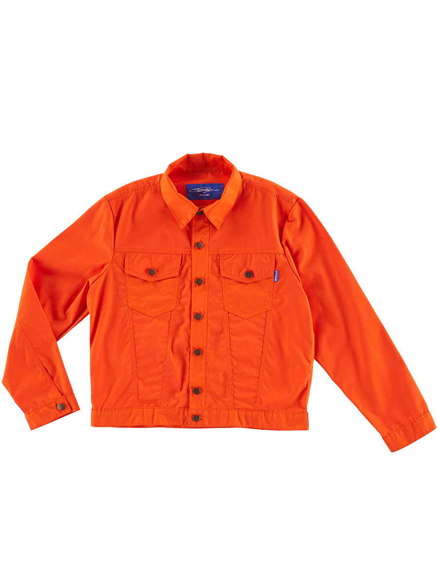 odd92 Anton Belinskiy Spring/Summer 2019 Orange Shirt Jacket - 1