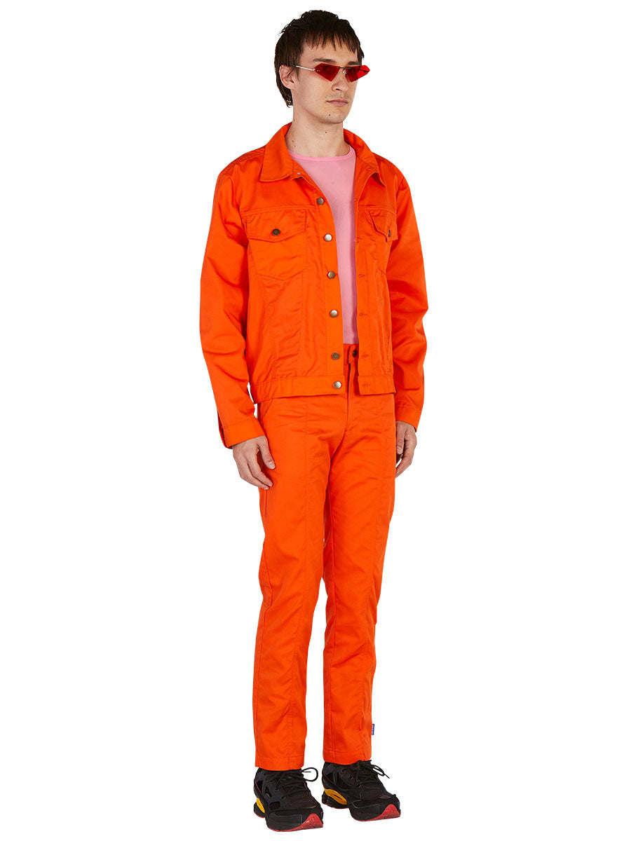 odd92 Anton Belinskiy Spring/Summer 2019 Orange Shirt Jacket - 4