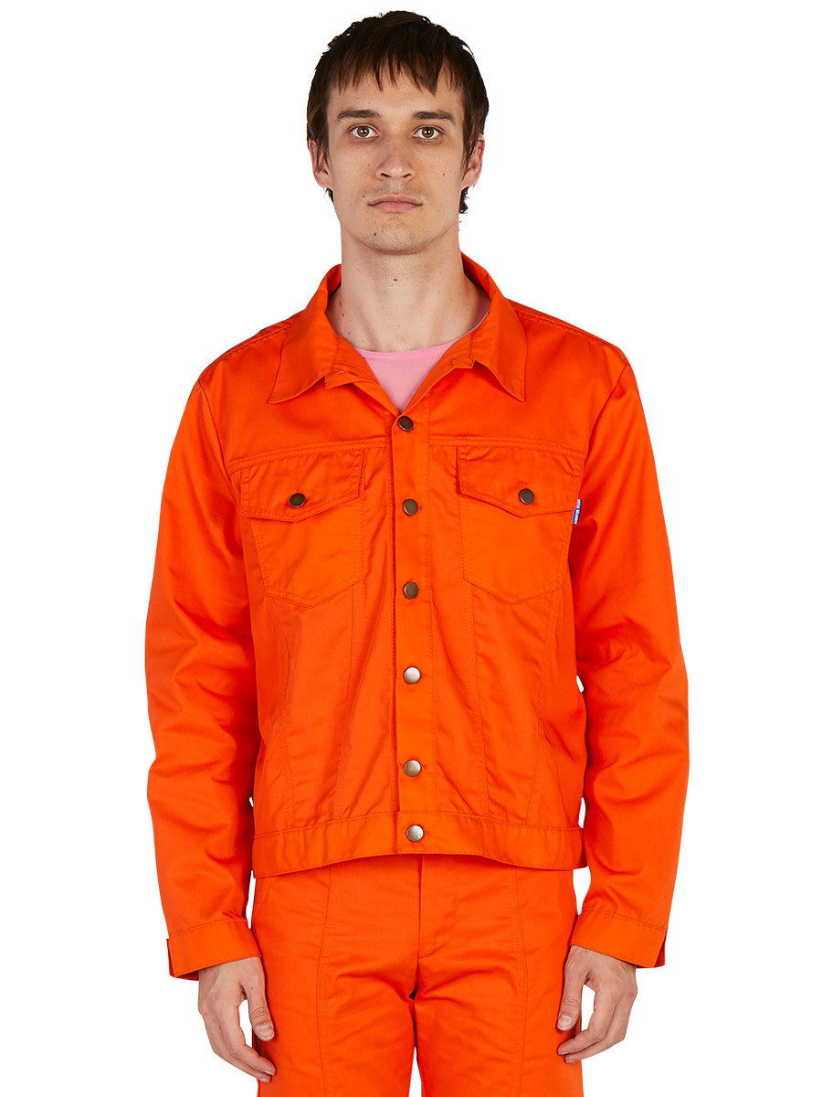 odd92 Anton Belinskiy Spring/Summer 2019 Orange Shirt Jacket - 2