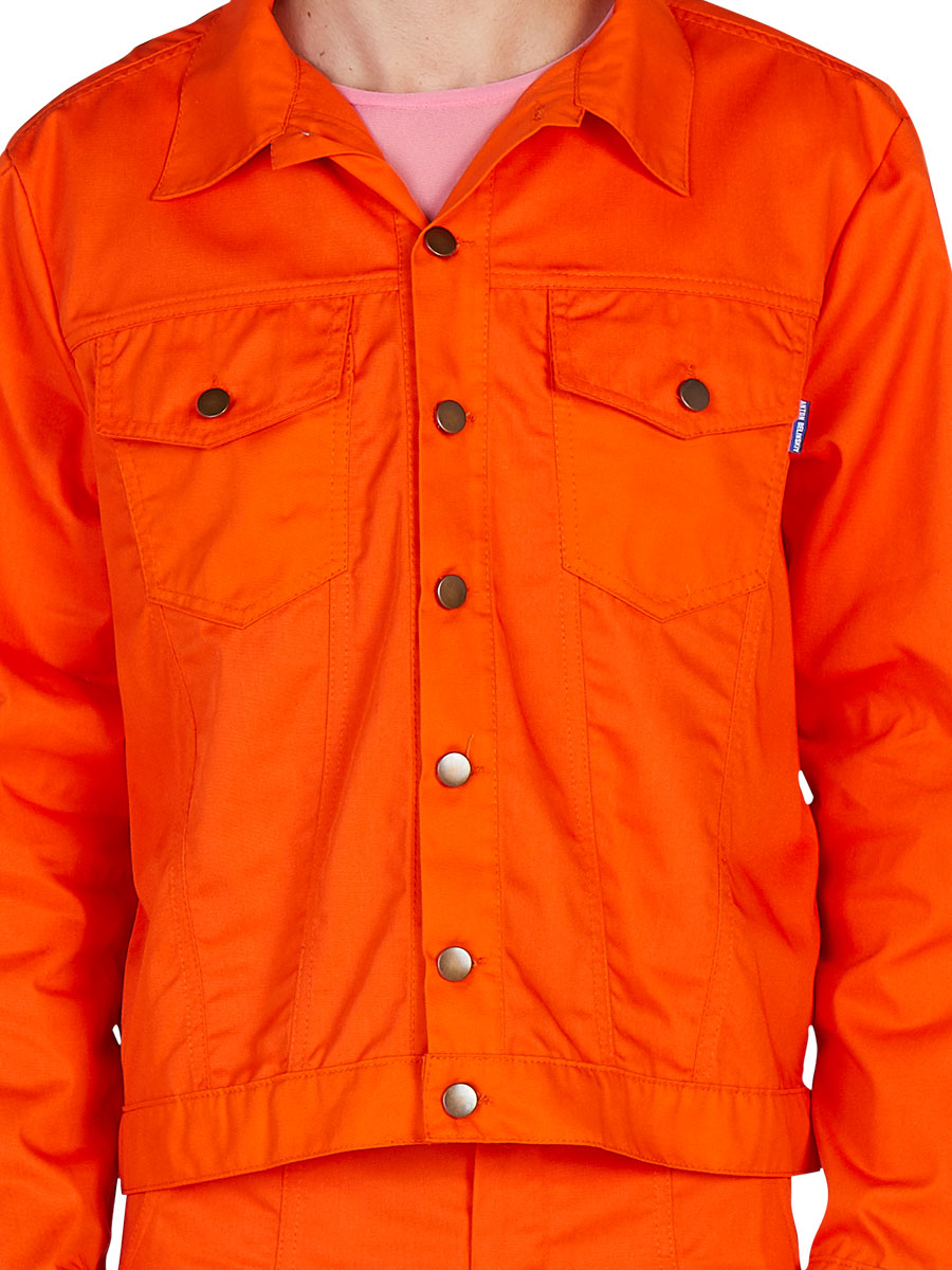 odd92 Anton Belinskiy Spring/Summer 2019 Orange Shirt Jacket - 5