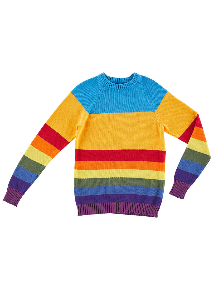 odd92 Anton Belinskiy Spring/Summer 2019 Color Stripe Sweater - 1