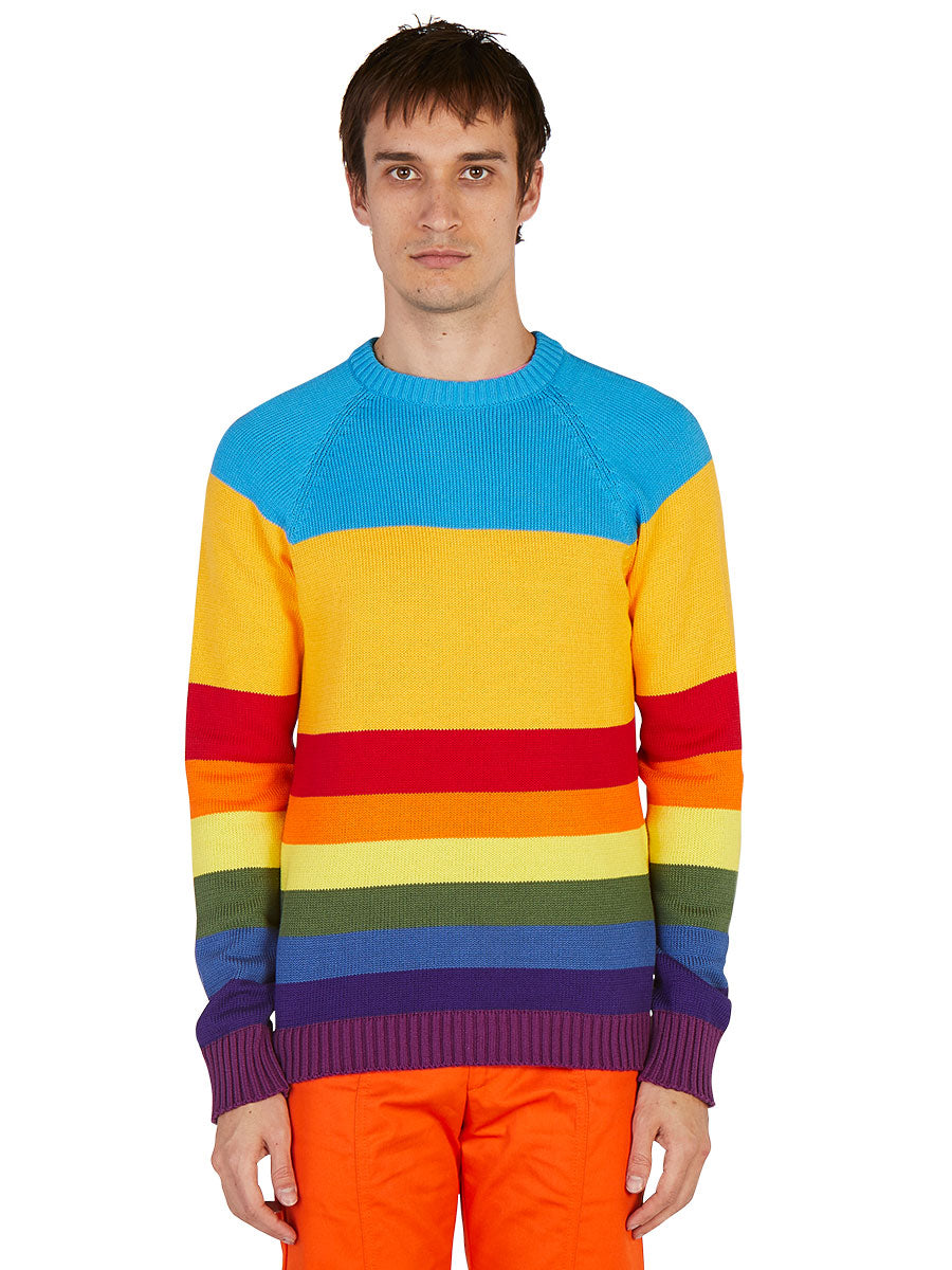 odd92 Anton Belinskiy Spring/Summer 2019 Color Stripe Sweater - 2