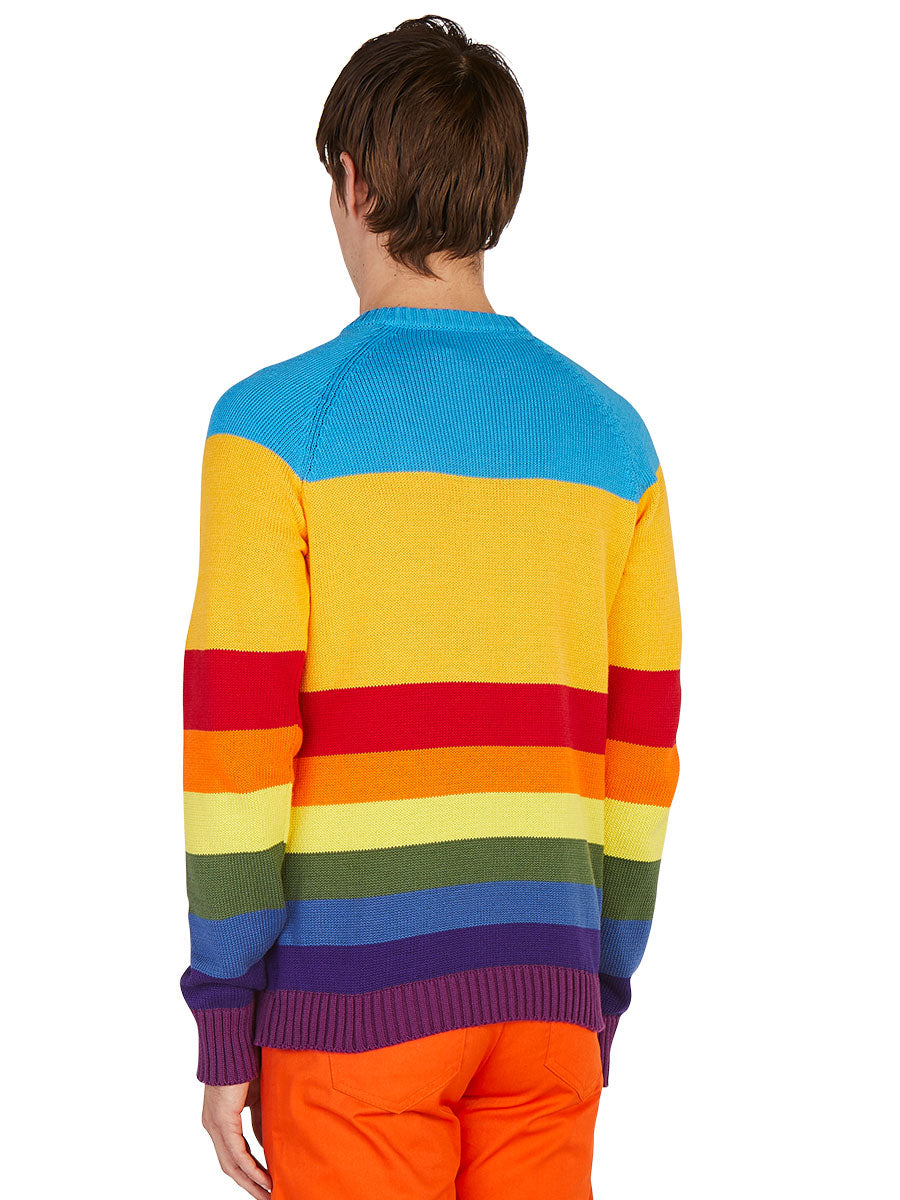 odd92 Anton Belinskiy Spring/Summer 2019 Color Stripe Sweater - 3
