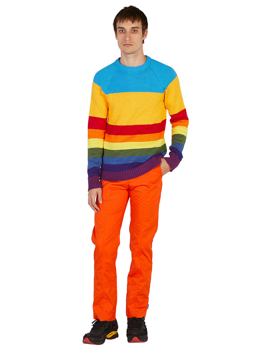 odd92 Anton Belinskiy Spring/Summer 2019 Color Stripe Sweater - 4