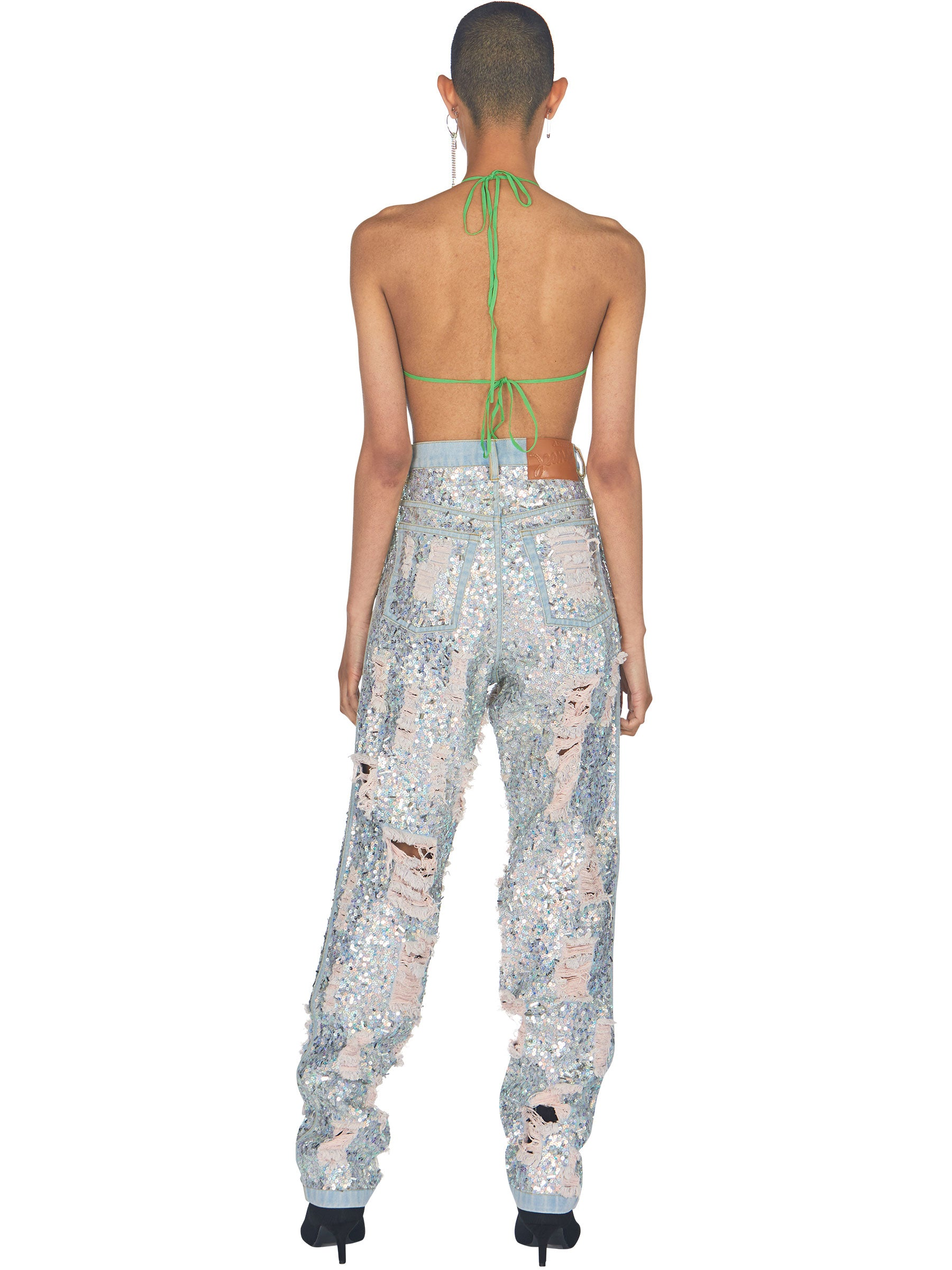 odd92 Ashish Ripped Sequin Jeans Spring/Summer 2019 - 5