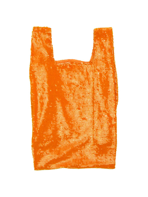odd92 Ashish Sequin Shopper Bag Orange Spring/Summer 2019 - 1