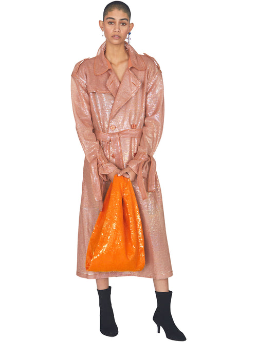 odd92 Ashish Sequin Shopper Bag Orange Spring/Summer 2019 - 2