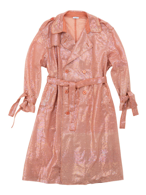 odd92 Ashish Sequin Trench Coat Mirage Spring/Summer 2019 - 1