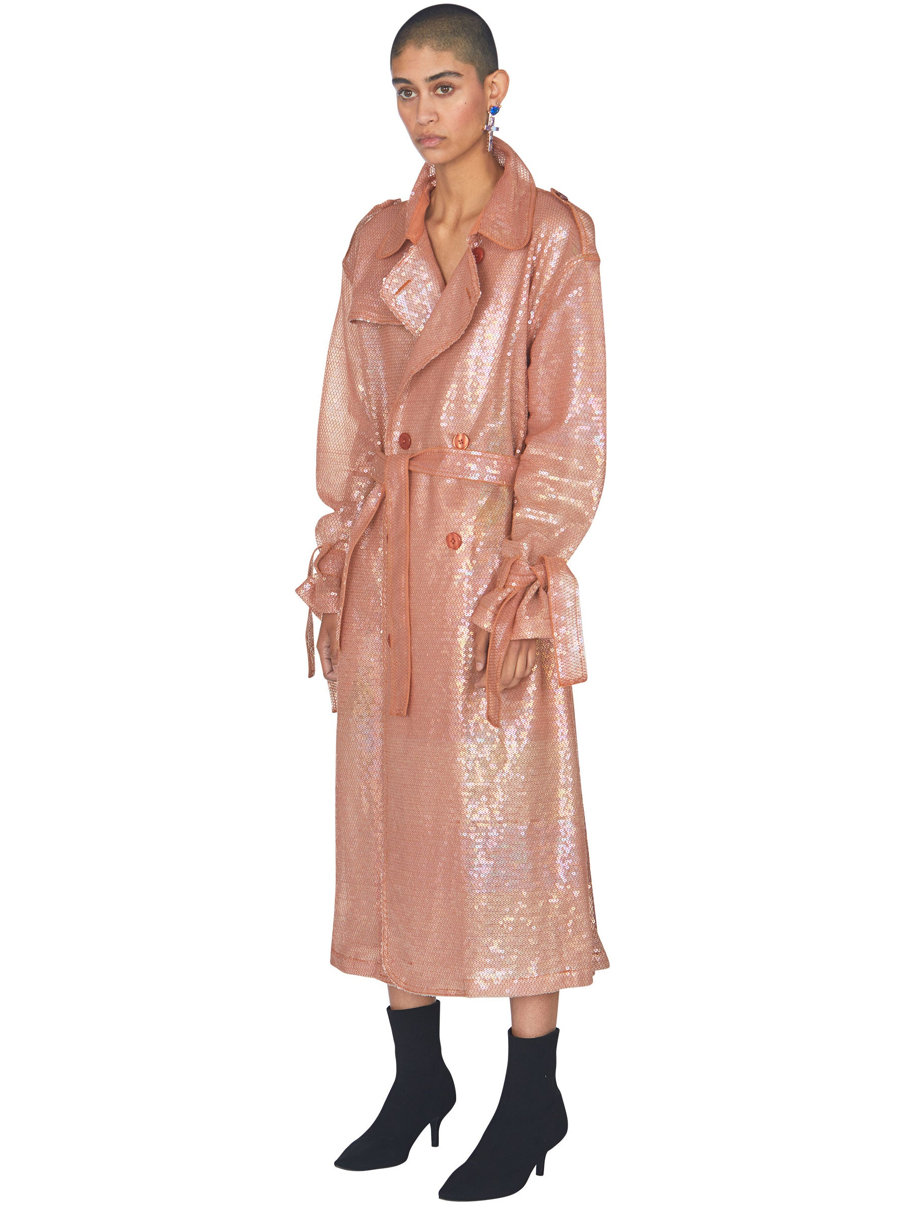 odd92 Ashish Sequin Trench Coat Mirage Spring/Summer 2019 - 3