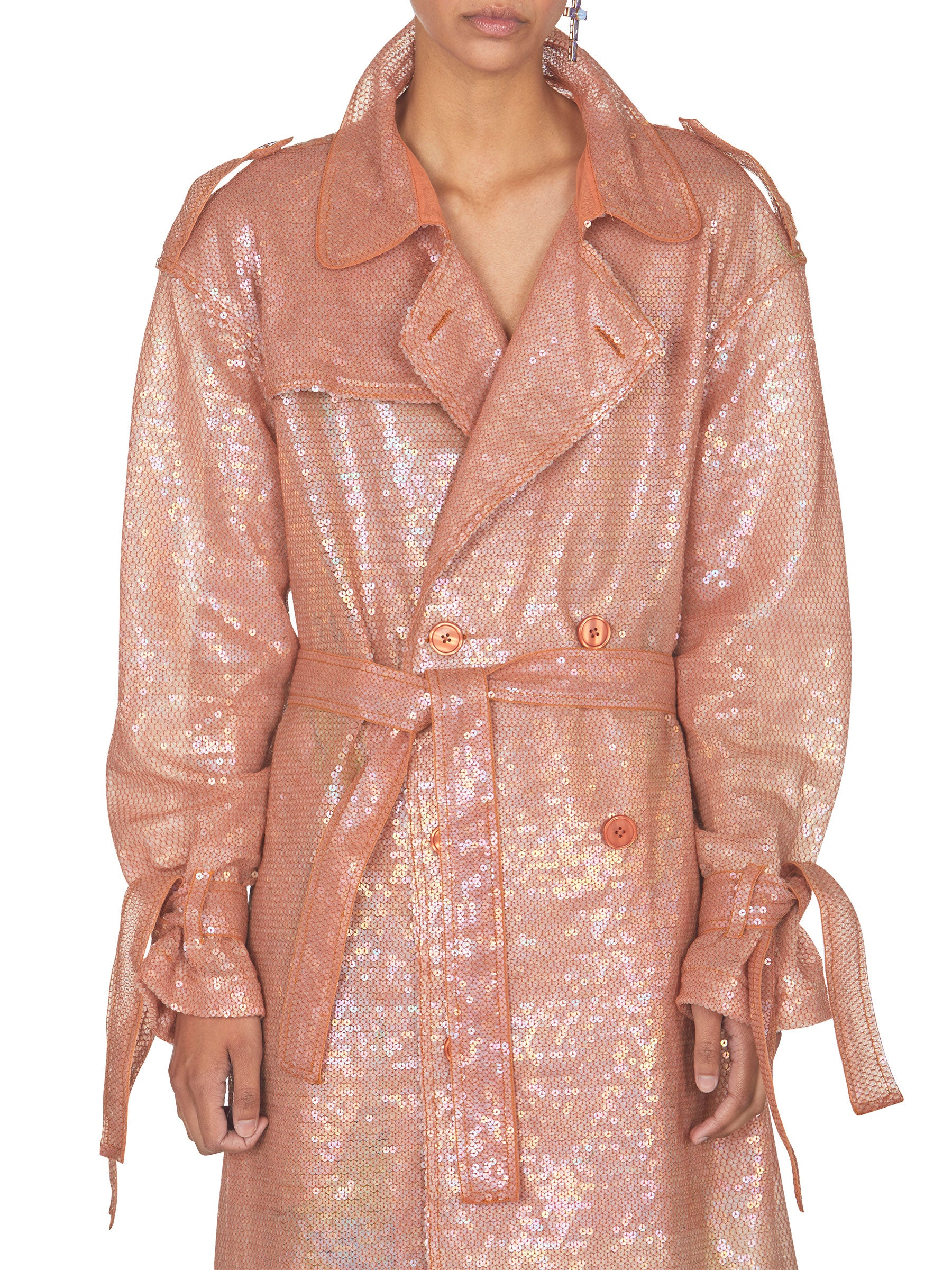 odd92 Ashish Sequin Trench Coat Mirage Spring/Summer 2019 - 5