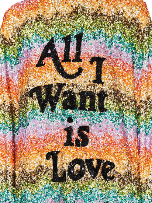Ashish Fall/Winter 2018 Unisex All I Want Is Love Top odd92 - 2