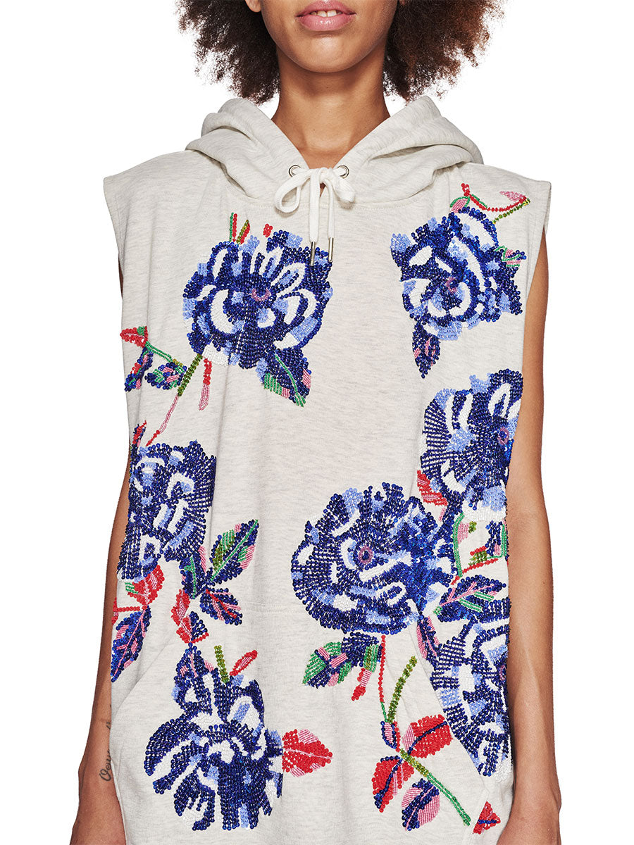 Ashish Fall/Winter 2018 Unisex Sleeveless Hoodie odd92 - 2