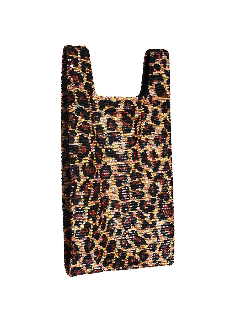 Ashish Fall/Winter 2018 Leopard Sequin Shopper Tote odd92 - 3