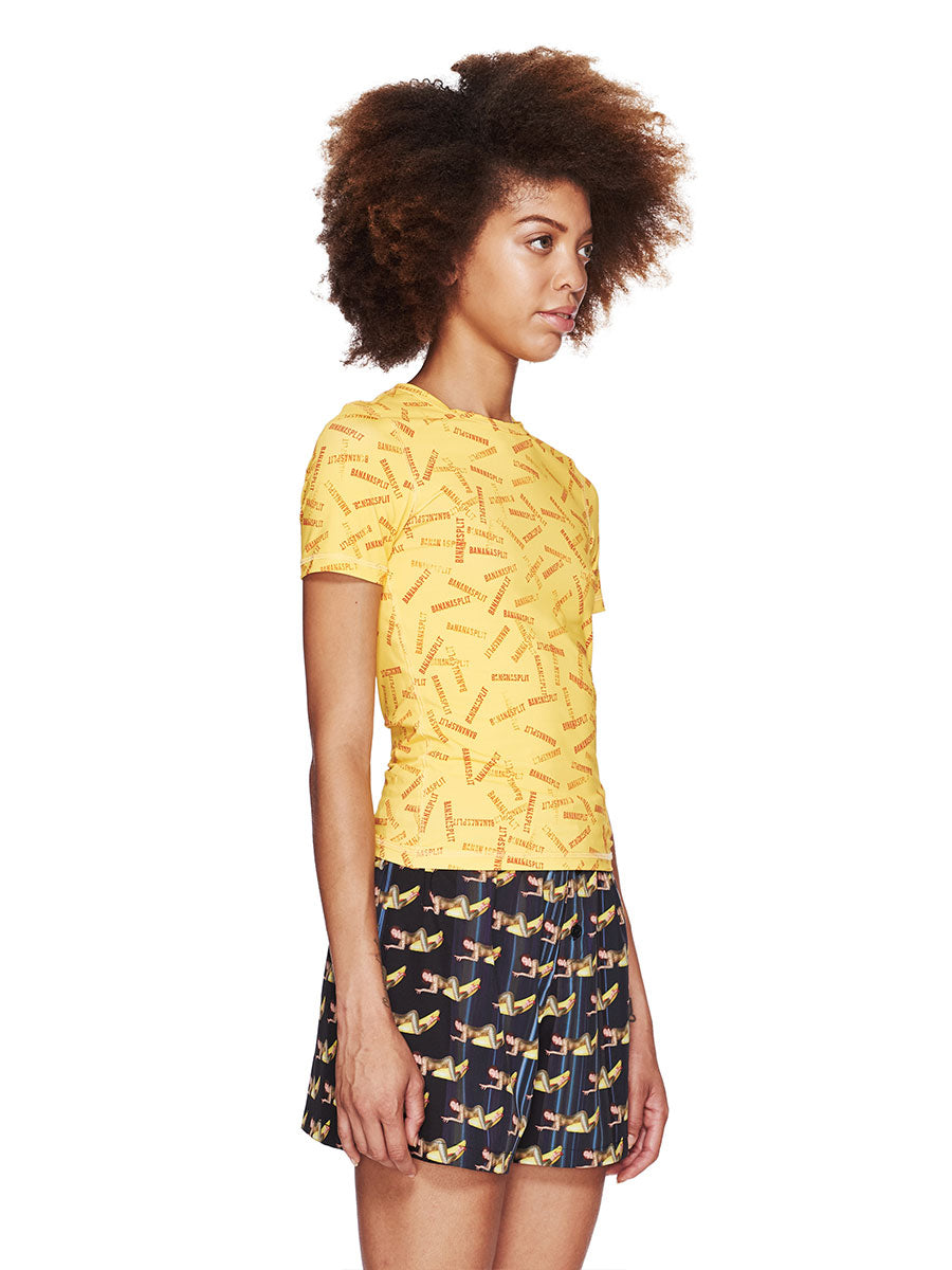 Adam Selman Fall/Winter 2018 Womenswear Banana Split T-Shirt odd92 - 4