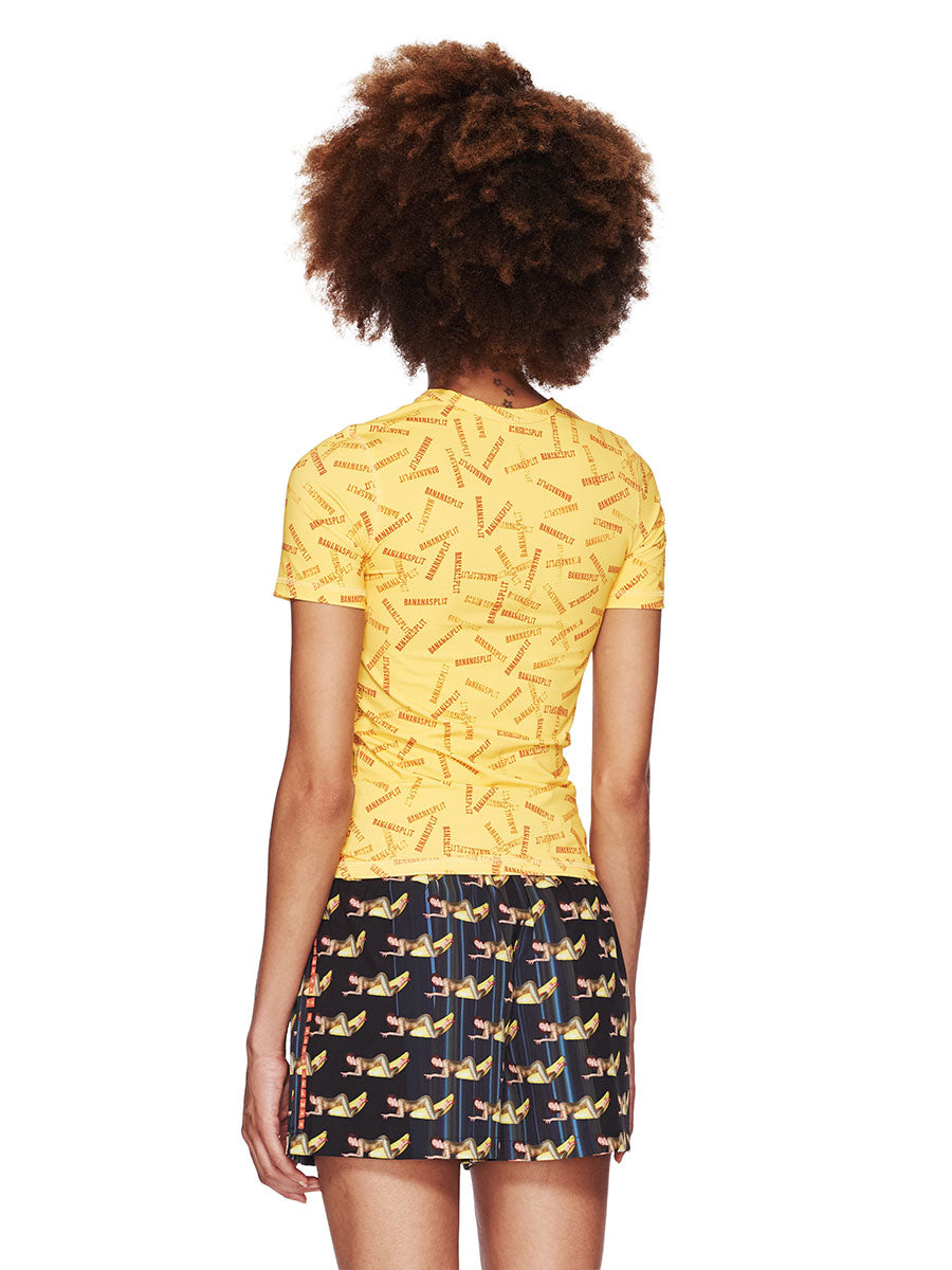 Adam Selman Fall/Winter 2018 Womenswear Banana Split T-Shirt odd92 - 5