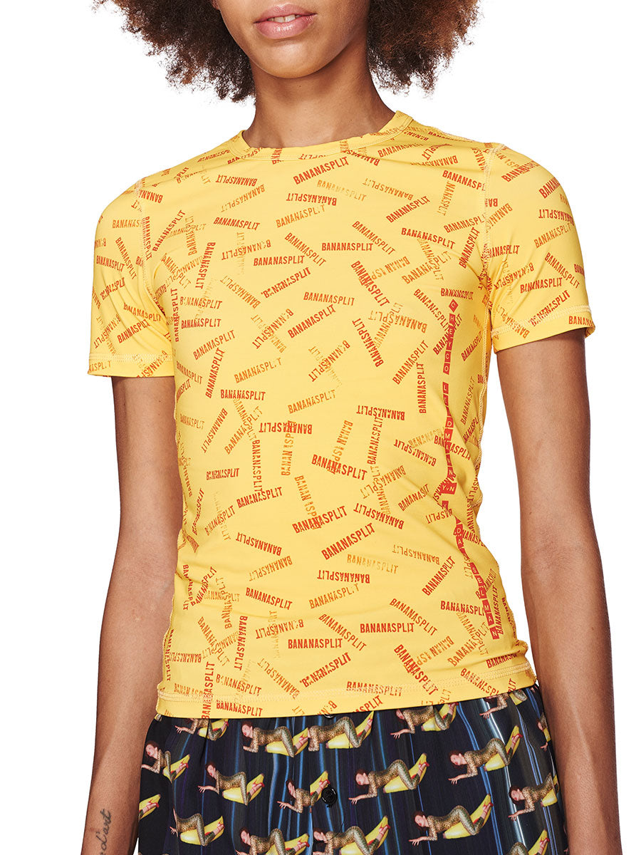 Adam Selman Fall/Winter 2018 Womenswear Banana Split T-Shirt odd92 - 2