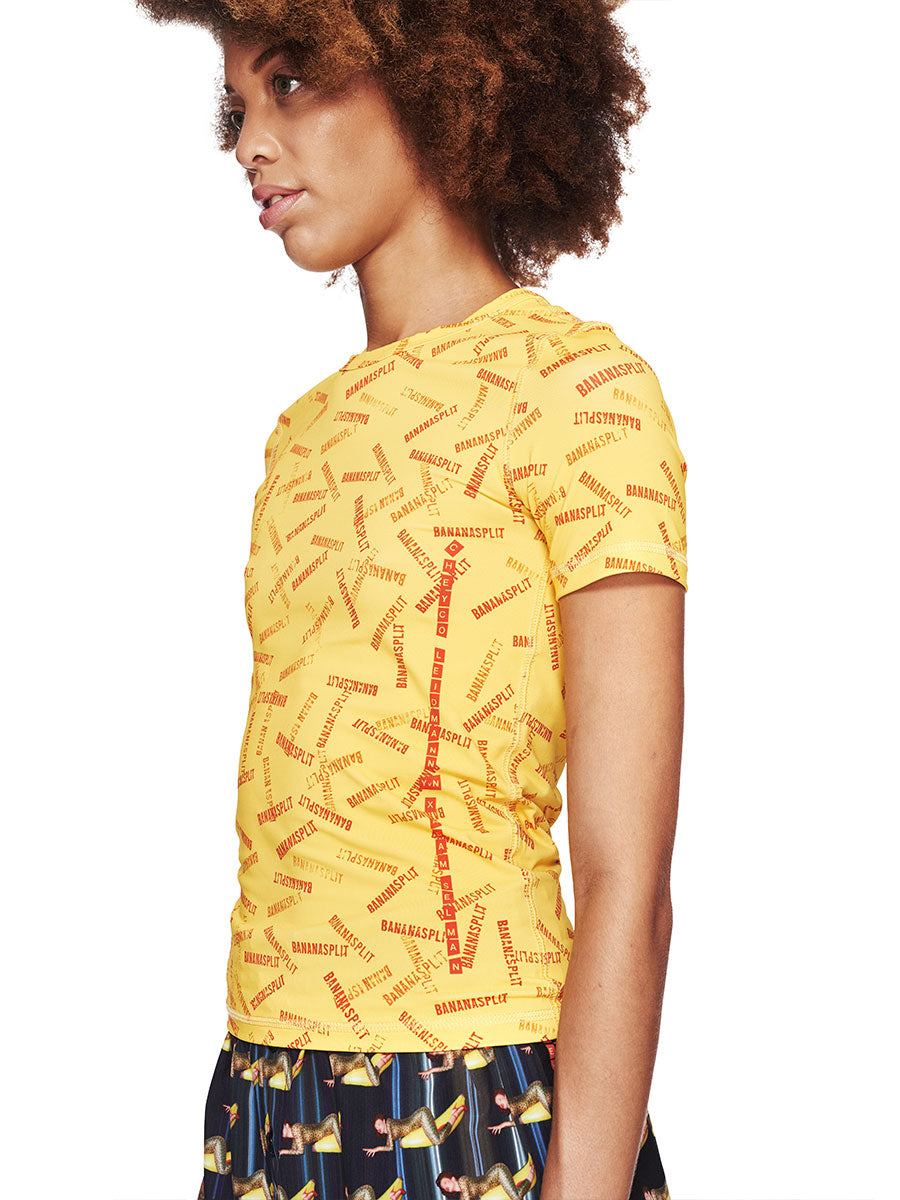 Adam Selman Fall/Winter 2018 Womenswear Banana Split T-Shirt odd92 - 3