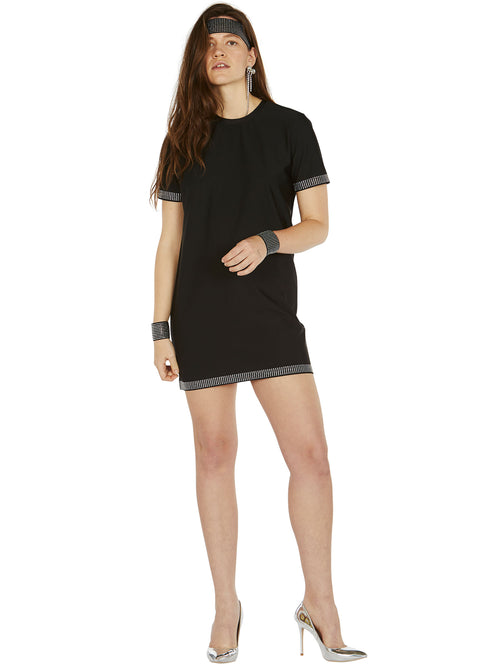 odd92 Adam Selman Sport Crystal T Mini Dress Spring/Summer 2019 Womenswear - 2