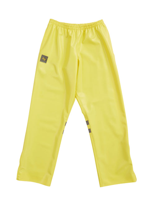 odd92 Shop Arthur Avellano Spring/Summer 2019 Yellow Latex Sport Pants - 1