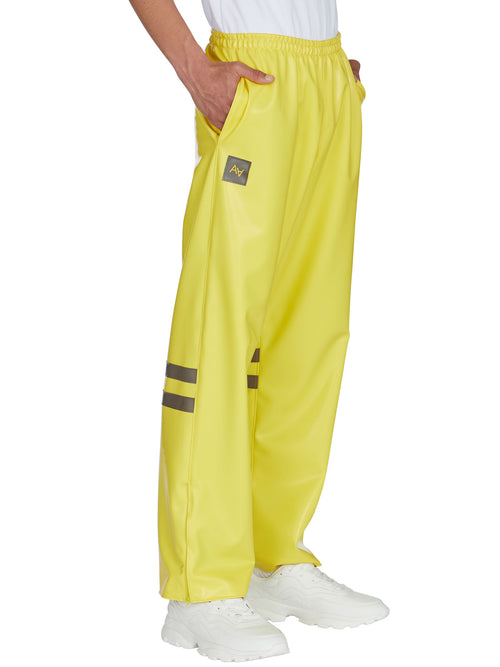odd92 Shop Arthur Avellano Spring/Summer 2019 Yellow Latex Sport Pants - 2