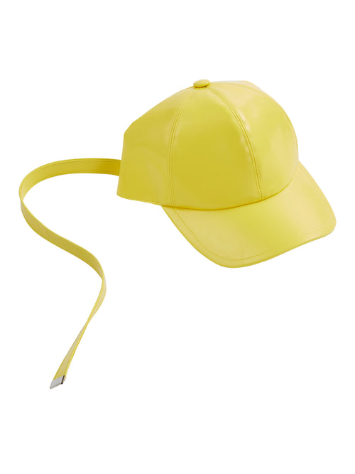 odd92 Shop Arthur Avellano Spring/Summer 2019 Menswear Womenswear Yellow Latex Cap - 1